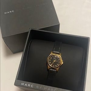 Marc by Marc Jacobs Black Dinky Watch